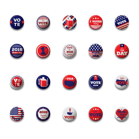voting: set of voting icons