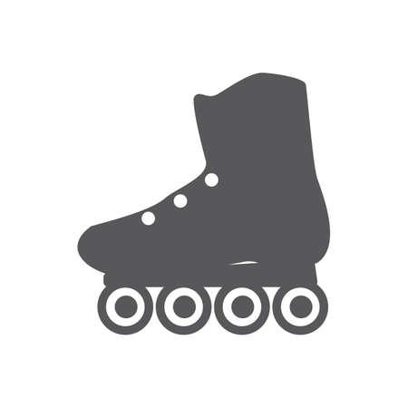 roller: roller skate shoe Illustration
