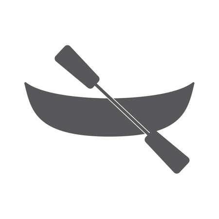 oar: boat with oar