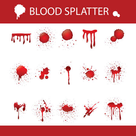 spatters: blood spatter collection