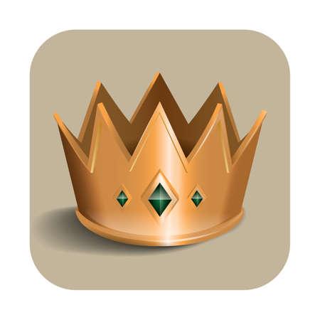 royals: crown Illustration