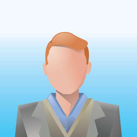 formal wear clothing: businessman Illustration