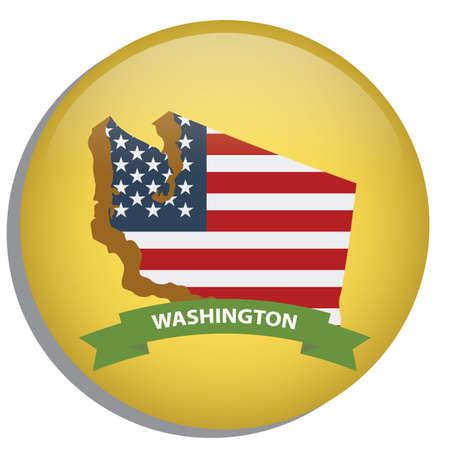 washington state: map of washington state