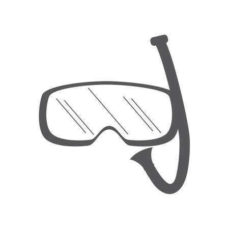 snorkelling: snorkelling mask