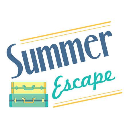 escape: summer escape poster