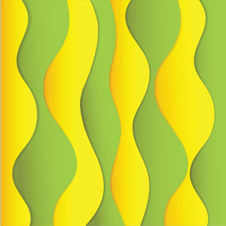 cut outs: abstract background Illustration