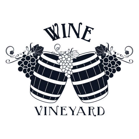 distillery: vineyard label
