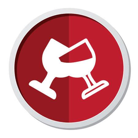 x mas parties: wineglass