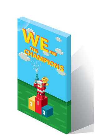 we: we are the champions book Illustration
