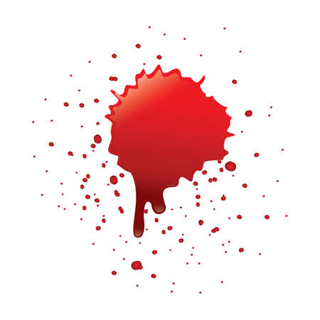 spatters: blood spatter