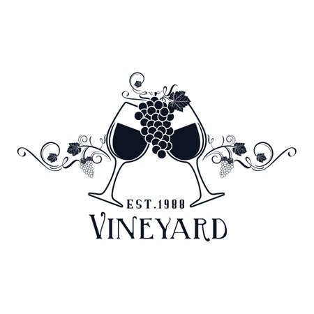 vineyard label
