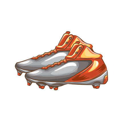 shoelaces: football shoe