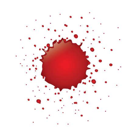 spatter: blood spatter