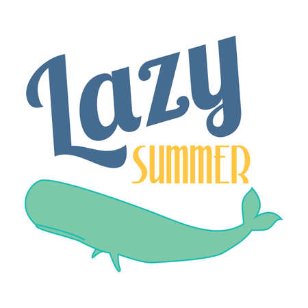 lazy: lazy summer poster