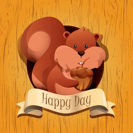 happy: happy day
