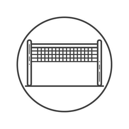 net: volleyball net Illustration