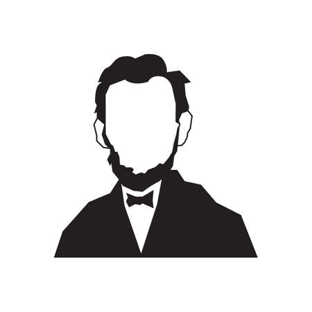 abraham: abraham lincoln Illustration