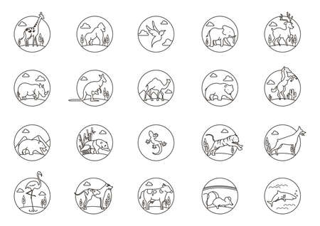 joey: collection of animal icons