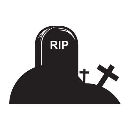 prop: halloween tombstone
