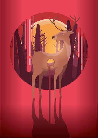 shot: shot deer