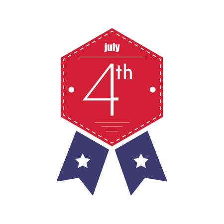 fourth of july: fourth july badge