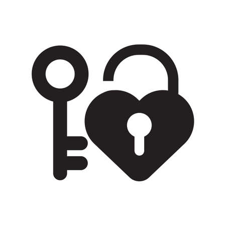 lock and key: love lock and key