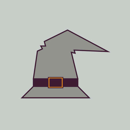 pointy hat: witch hat