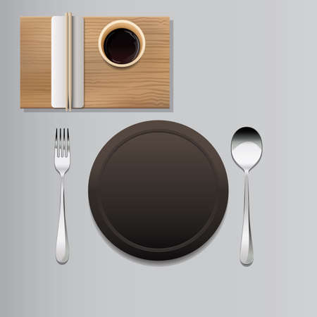 placement: cutlery placement