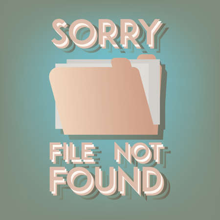file not found: sorry quote
