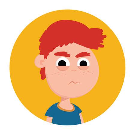 vengeful: boy with vengeful expression