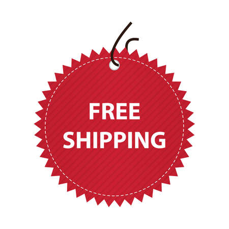 sell off: free shipping label