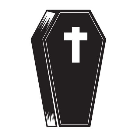 coffin Stock Illustratie