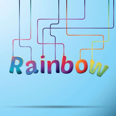 rainbow: rainbow text