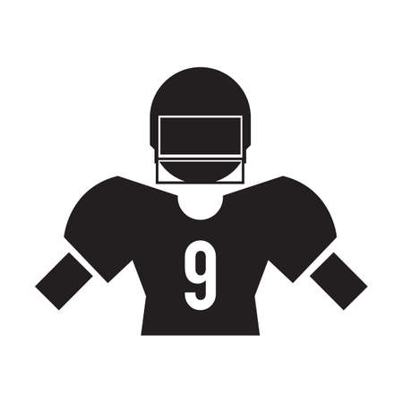 protection gear: american football uniform