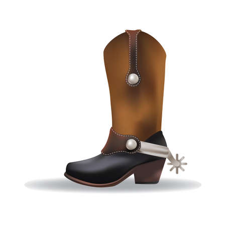 foot wear: cowboy boot