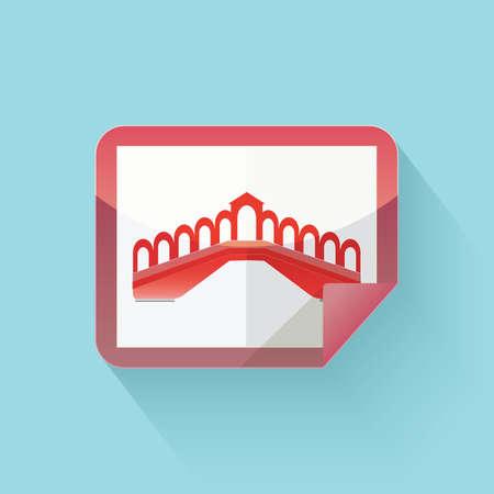 rialto: rialto bridge sticker