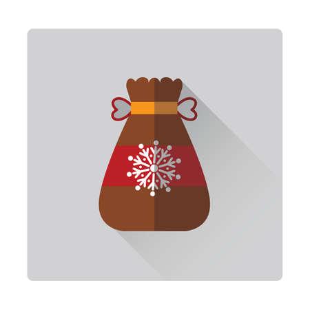 sack: santa claus gift sack