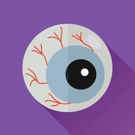 globo ocular: globo del ojo