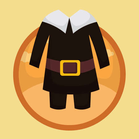 pilgrim costume: pilgrim costume Illustration