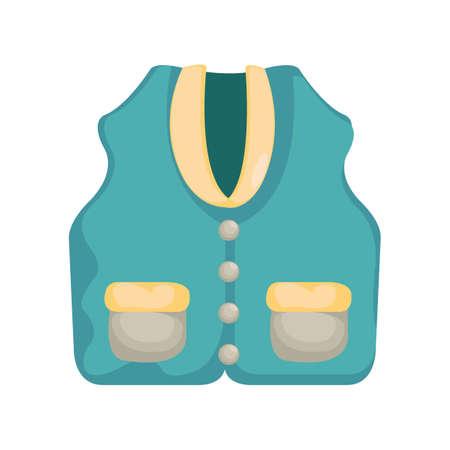vest: golf vest