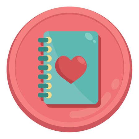 notebook: heart notebook