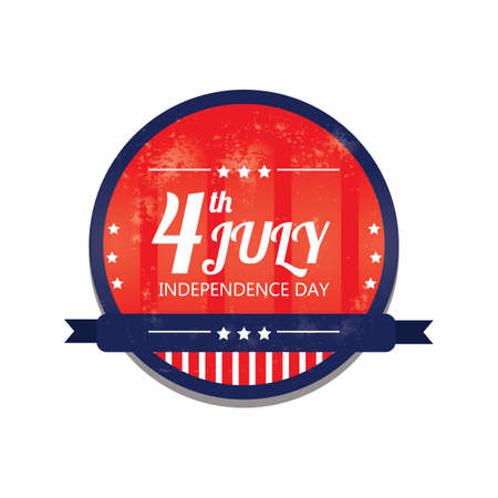 fourth july: fourth july independence day label