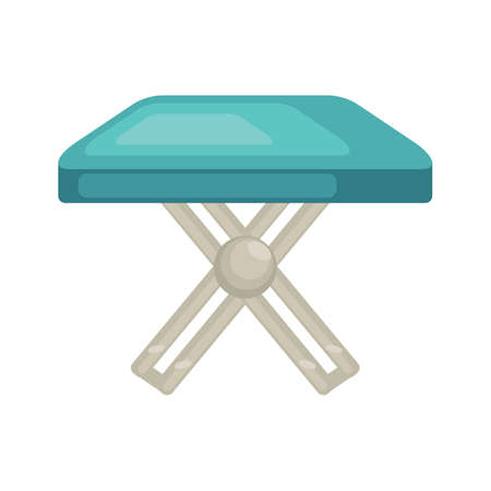 outdoor furniture: plastic folding table