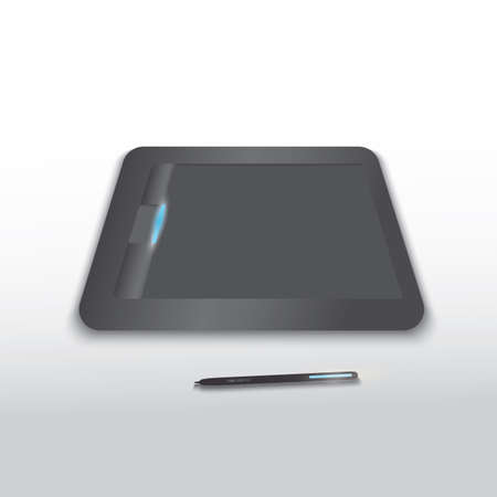 graphic: graphic tablet Illustration