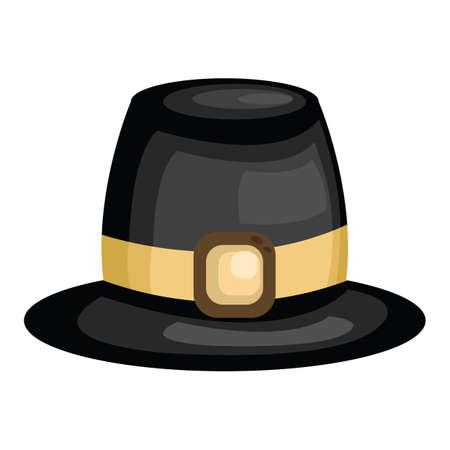 religious celebration: pilgrim hat