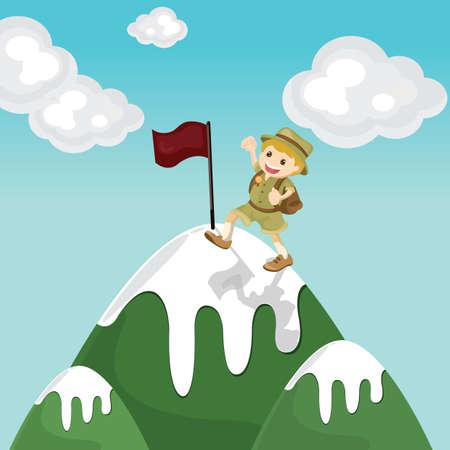 successful mountaineer