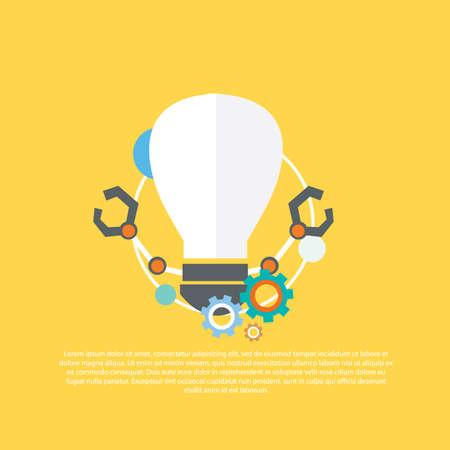 technology: technology concept Illustration