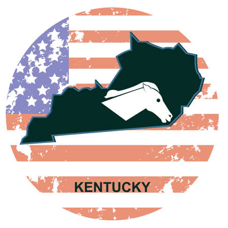 kentucky: kentucky state Illustration
