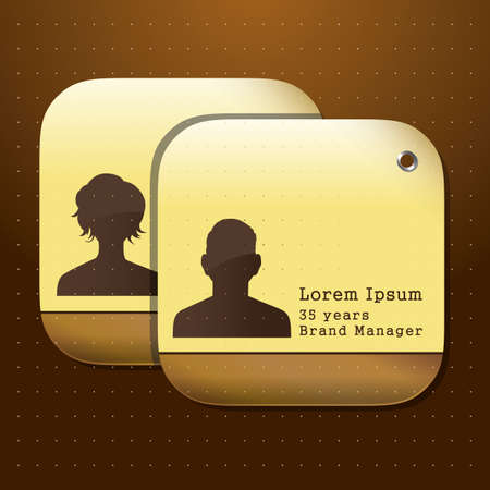 designation: identity cards