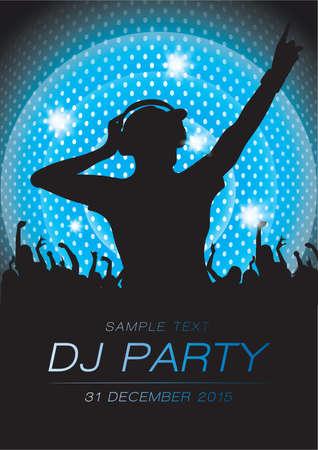 dj party Illustration